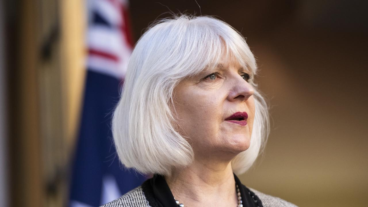 National Mental Health Commission chief executive Christine Morgan said the strategy was a world first. Picture: Rohan Thomson/Getty Images