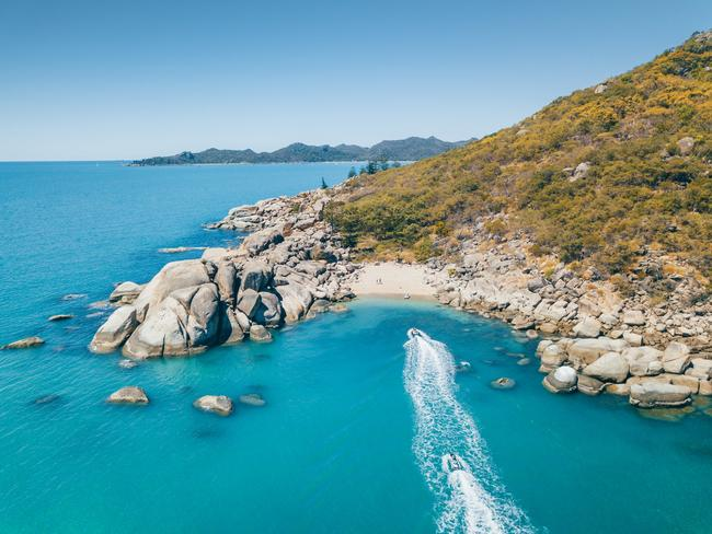 Get out on the water with Aquascene, take a sunset sail aboard Pilgrim (April-October), go horse riding on the beach and start at least one day on Forts Walk. If you're living the #vanlife, Magnetic Island Ferries now offers a campervan package that includes vehicle transfer and one night at Bungalow Bay where you can breakfast with the koalas. Picture: TEQ