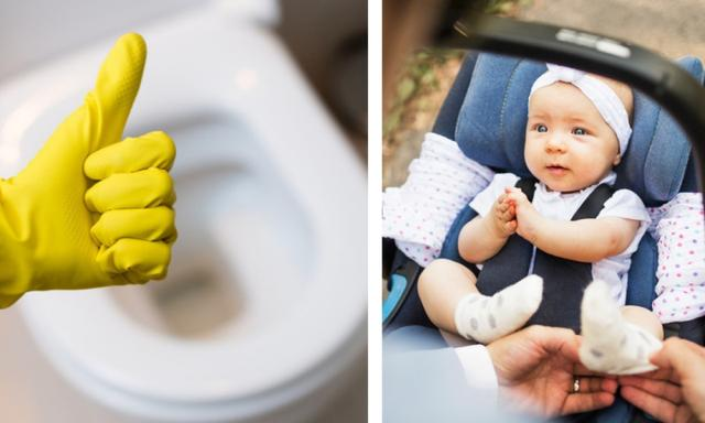 Eww. Your baby's car seat could be dirtier than your toilet