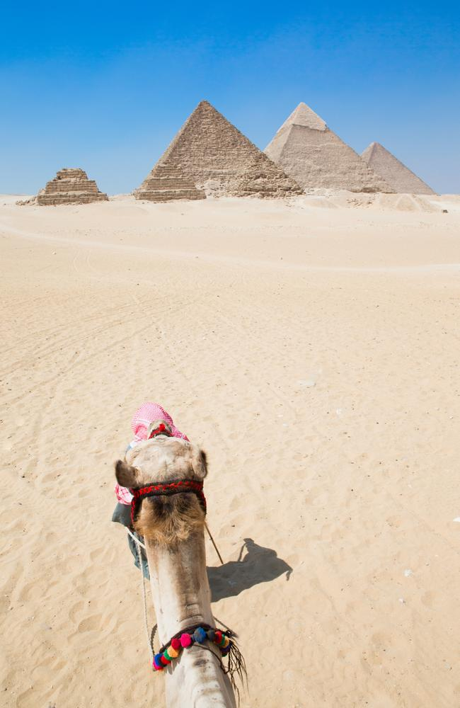 The Pyramids of Giza in Cairo, Egypt. Picture: Istock
