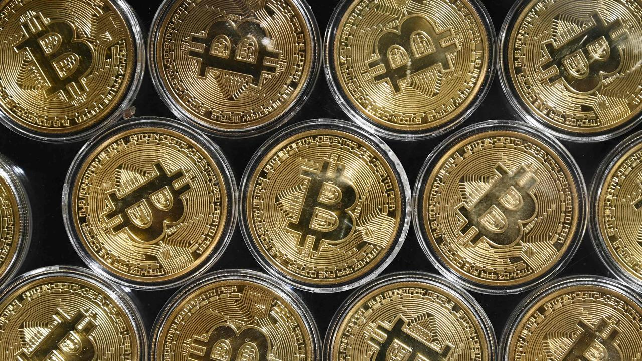 Oliver described cryptocurrency as educated gambling. Picture: Ozan Kose/AFP