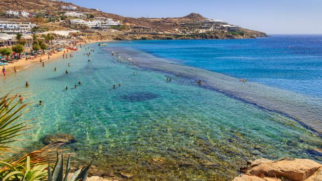 19/37Paradise Beach - Chora, Mykonos - Greece Bathe in the sun in the nude by day and party by night - the well-named Paradise Beach is home to bars and music, which kick off after sunset.See also: 10 best Greek islands to visit