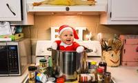 Mum creates adorable Elf on the Shelf photo shoot
