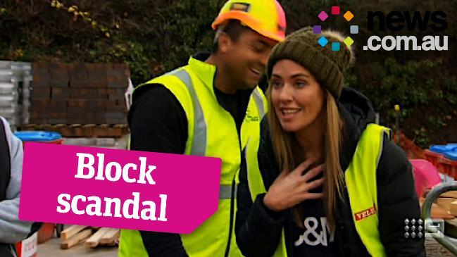 Ronnie and Georgia confronted on The Block for cheating