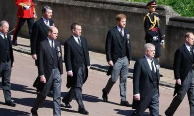 Prince William request at Prince Philip's funeral