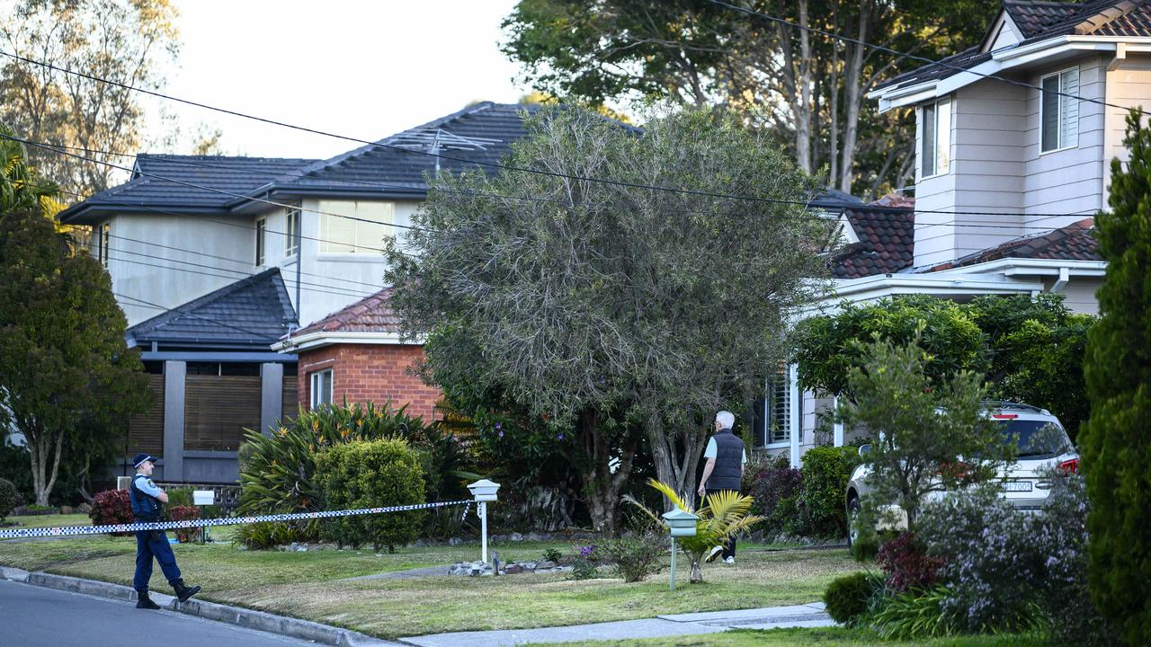 The bodies of a man and a woman were discovered in Sydney on Tuesday. Picture: News Corp Australia