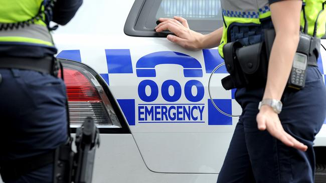 Victoria Police are currently investigating the incident that saw two teenagers stabbed and several men injured. Picture: Joe Castro/AAP