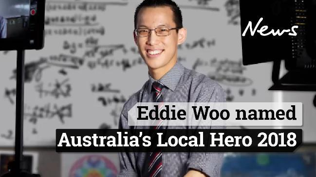 Maths teacher named Australia's local hero