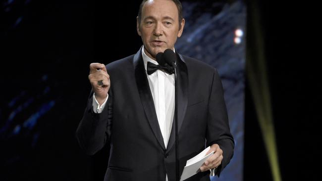 Kevin Spacey has been accused of sexual harassment by several men in recent days. Photo: AP