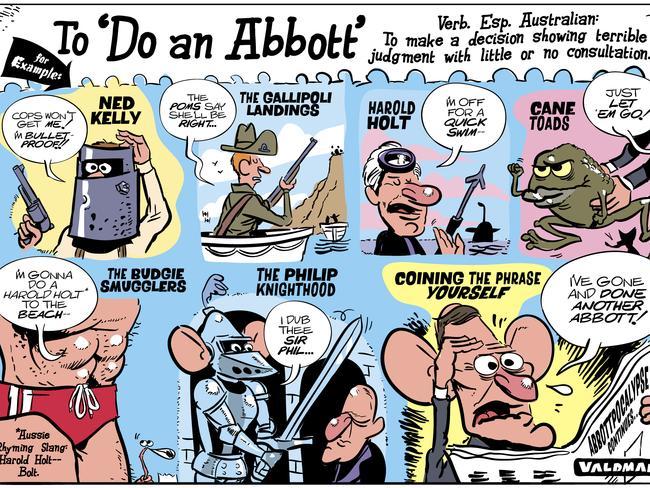 Jos Valdman takes through the ages of 'doing an Abbott'.