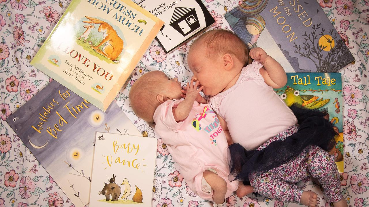 There has been a lot of research into the benefits of reading to babies. Picture: Brad Fleet