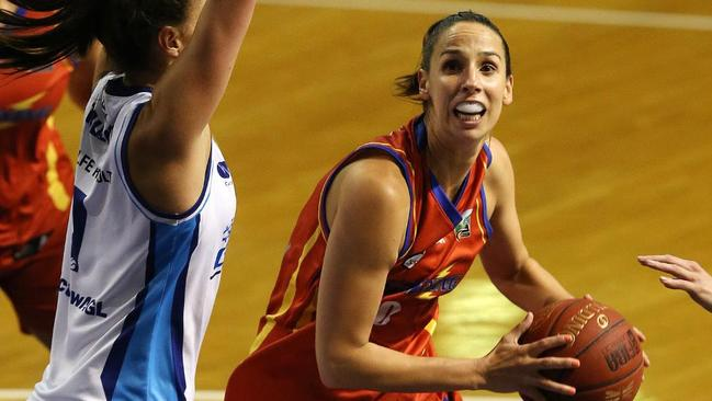 Laura Hodges again led the way for Adelaide.