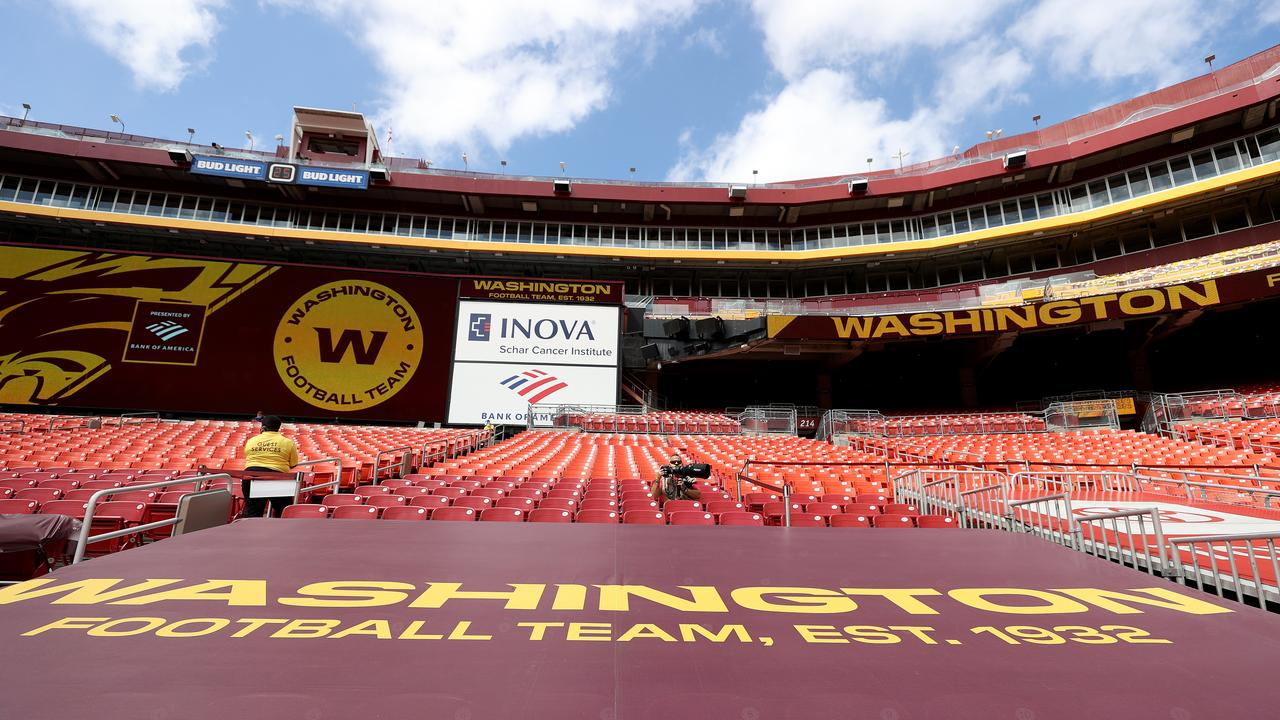 The Washington Football Team's home at FedExField in Landover, Maryland. (Photo by Rob Carr/Getty Images)