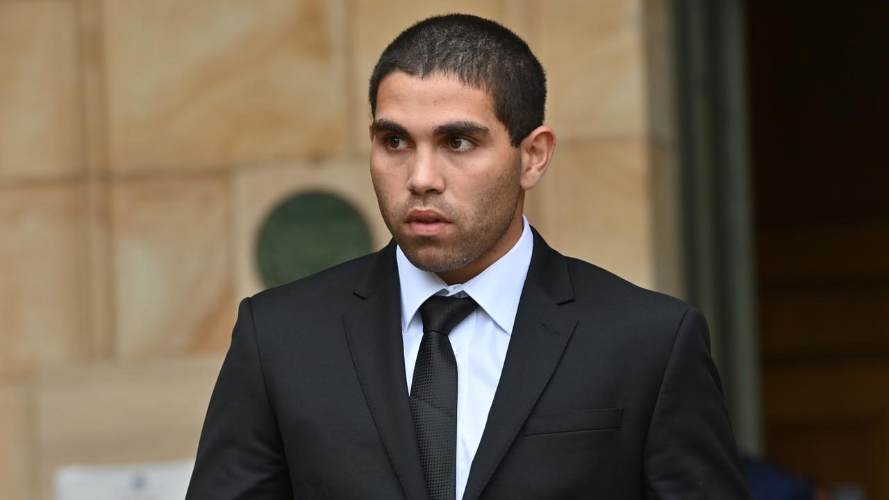 23/10/20. Adelaide Crows football player Tyson Stengle up on serious driving charges. Picture: Keryn Stevens