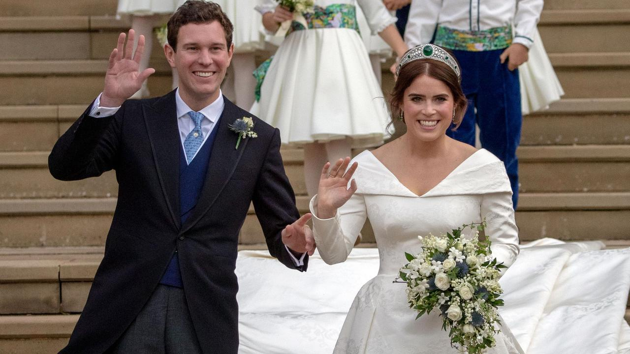 Senior royals are reportedly 'blindsided' by Harry and Meghan giving the property to Eugenie and Jack. Picture: AFP.