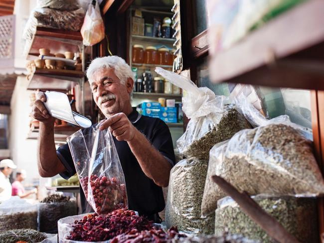 Go shopping in the Spice Souk. Picture: Supplied