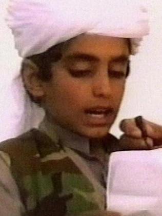 An undated photo of Hamza bin Laden. Picture: AP