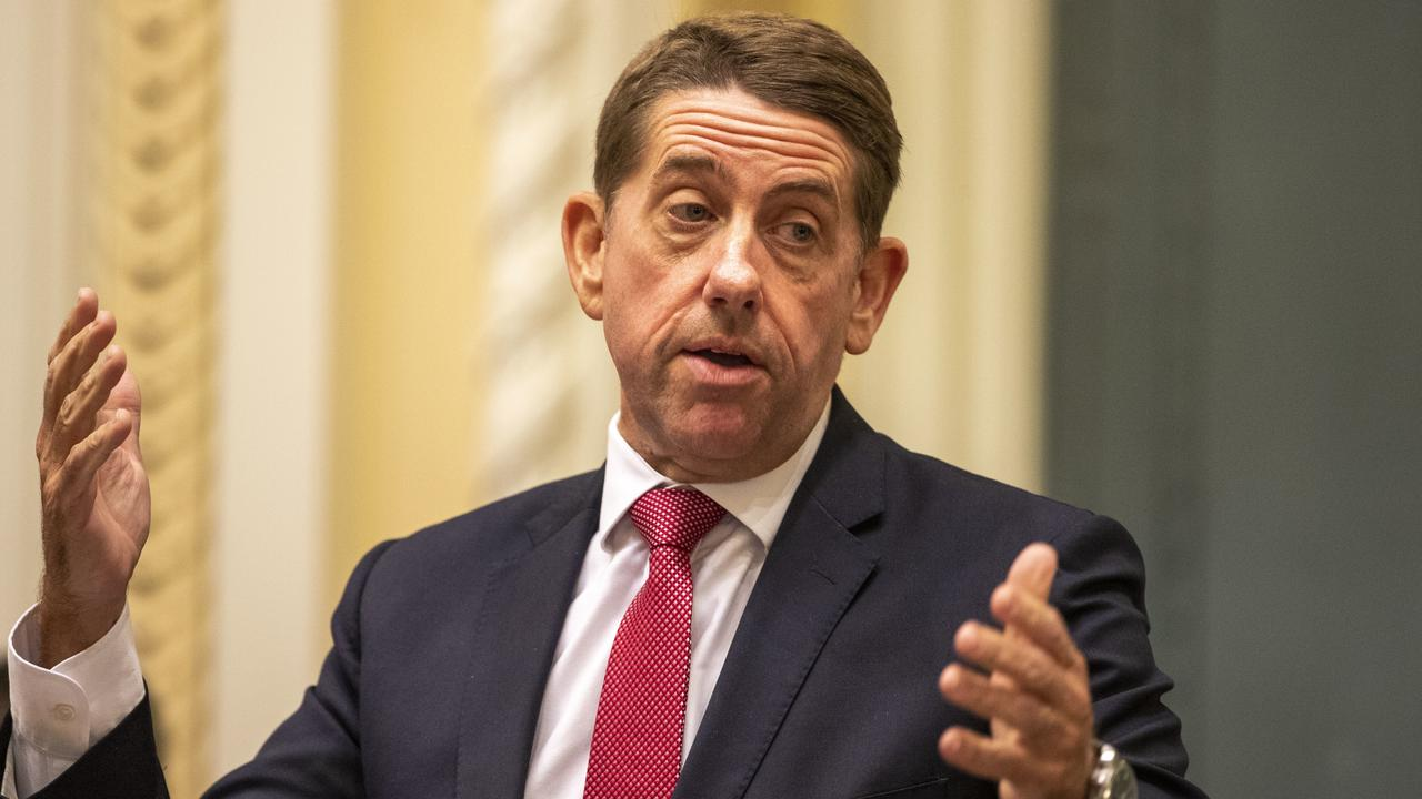 Queensland Minister State Development, Manufacturing, Infrastructure and Planning Cameron Dick told NSW to back off when it comes to Virgin Australia. Picture: AAP Image/Glenn Hunt.
