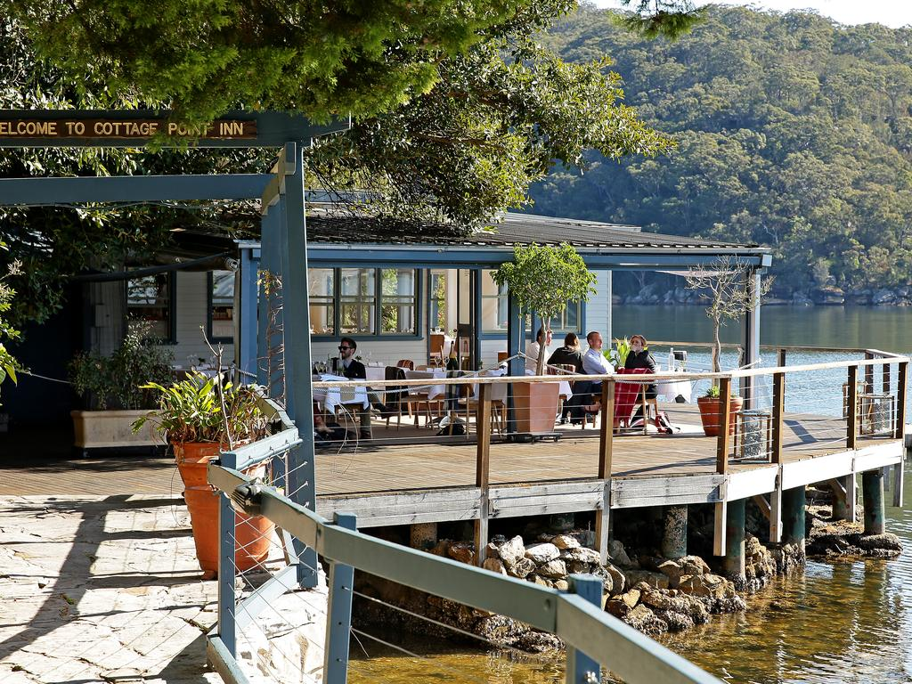 The picturesque location on Pittwater.