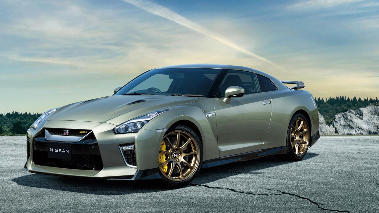 """A limited-edition """"millennium jade"""" model could be part of the final Nissan GT-R line-up."""