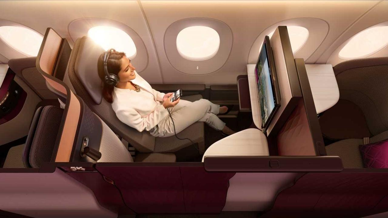 Qatar Airways' award-winning Qsuite Business Class has been rated the Best in the World.