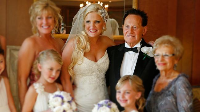 Brynne Edelsten didn't know Hughesy and Kate were at her wedding