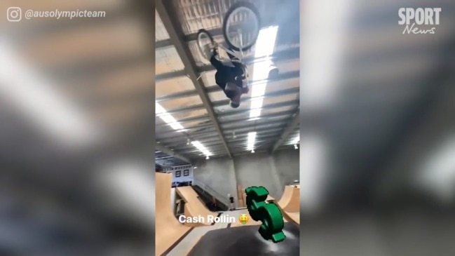 Brandon Loupos showcases impressive Gold Coast BMX facility