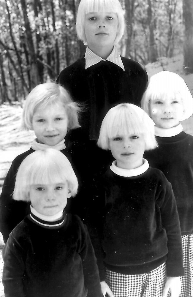 Children of the cult were given matching hairstyles and led to believe Hamilton-Byrne was their birth mother.