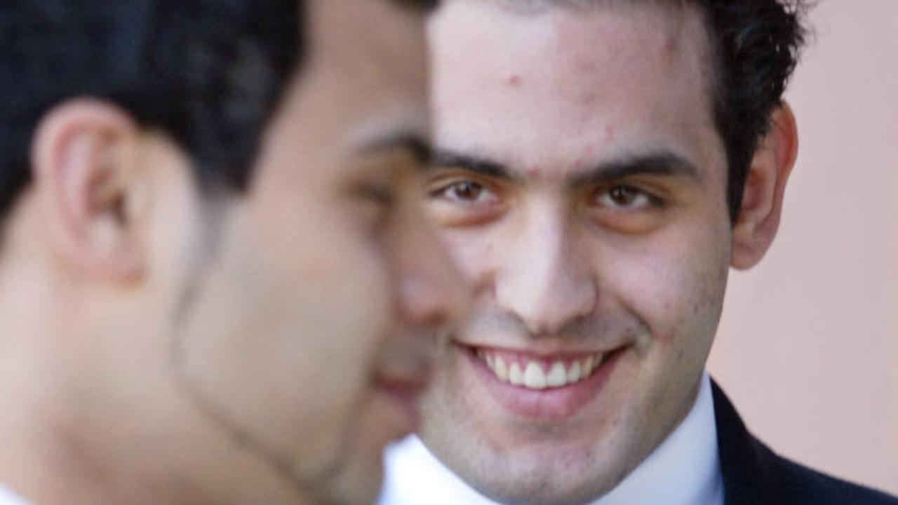 Paul Habib Nemer (right) with brother Antoine at the South Australian Supreme Court in 2003. Picture: Lindsay Moller