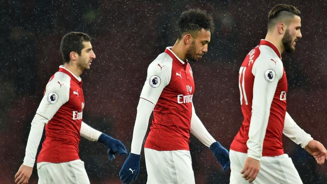Tough times for Arsenal.