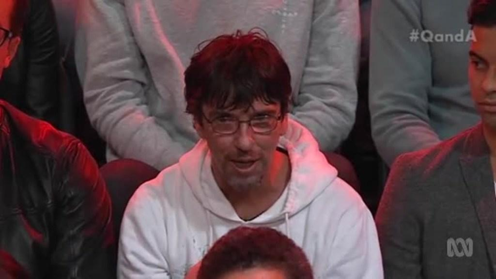 Duncan Storrar asks questions about minimum wage on Q and A