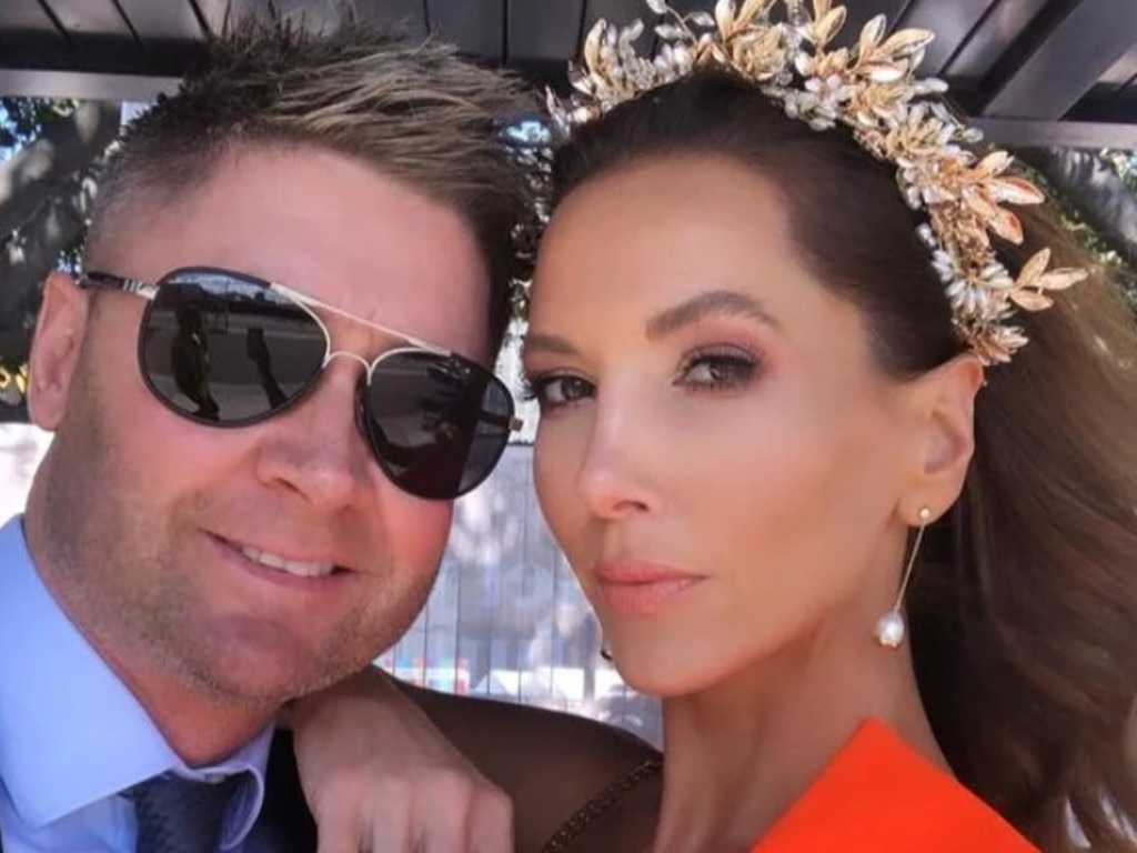 Kyly has denied rumours she and ex-husband, Michael Clarke, 40, are back together following their split in February 2020. Picture: Instagram
