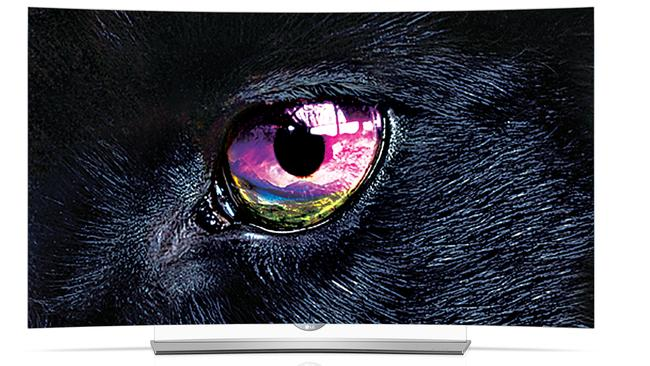 Crisp look ... LG's 4K OLED televisions arrived in Australia this year.