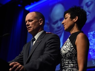 Outgoing Queensland premier Campbell Newman has called for an LNP meeting to elect a new leader.