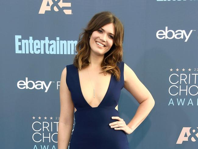 """Mandy Moore called the tribute """"equal parts flattering and terrifying."""" Picture: Frazer Harrison/Getty Images/AFP"""