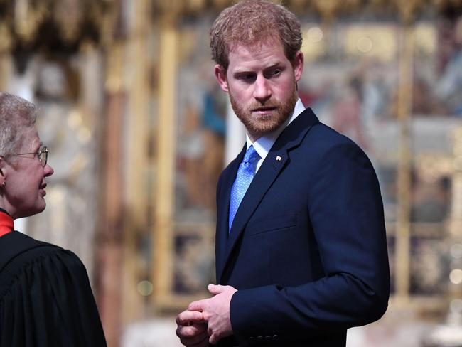 Markle asked for time off work because of scrutiny over her relationship with the Prince. Picture: Chris J Ratcliffe
