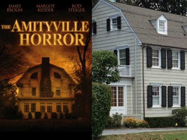 "4/13112 Ocean Avenue, Amityville, New York, United StatesThis picture-perfect house was the setting for the 1979 film The Amityville Horror. The movie was based on a real-life incident where a man murdered his family and killed himself. Thirteen months later, the Lutz family moved in and were terrorized by paranormal behaviour for a month until they hastily moved out again. Among the strange events that allegedly occurred were doors and locks flinging open on their own, cloven footprints appearing in the snow, sounds of demonic marching bands, a crucifix spinning upside down and unexplained foul odours. After the Lutz family left, the house was investigated by ghost hunters Ed and Lorraine Warren, who captured a famous image of a ""demonic ghost boy. """