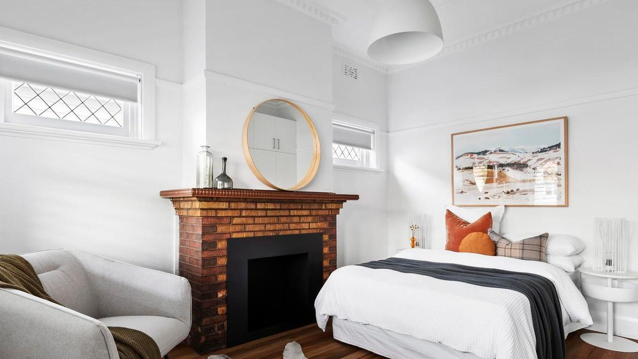 One of the charming bedrooms.