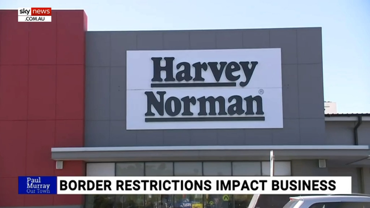 Harvey Norman Albury is hopeful borders open soon