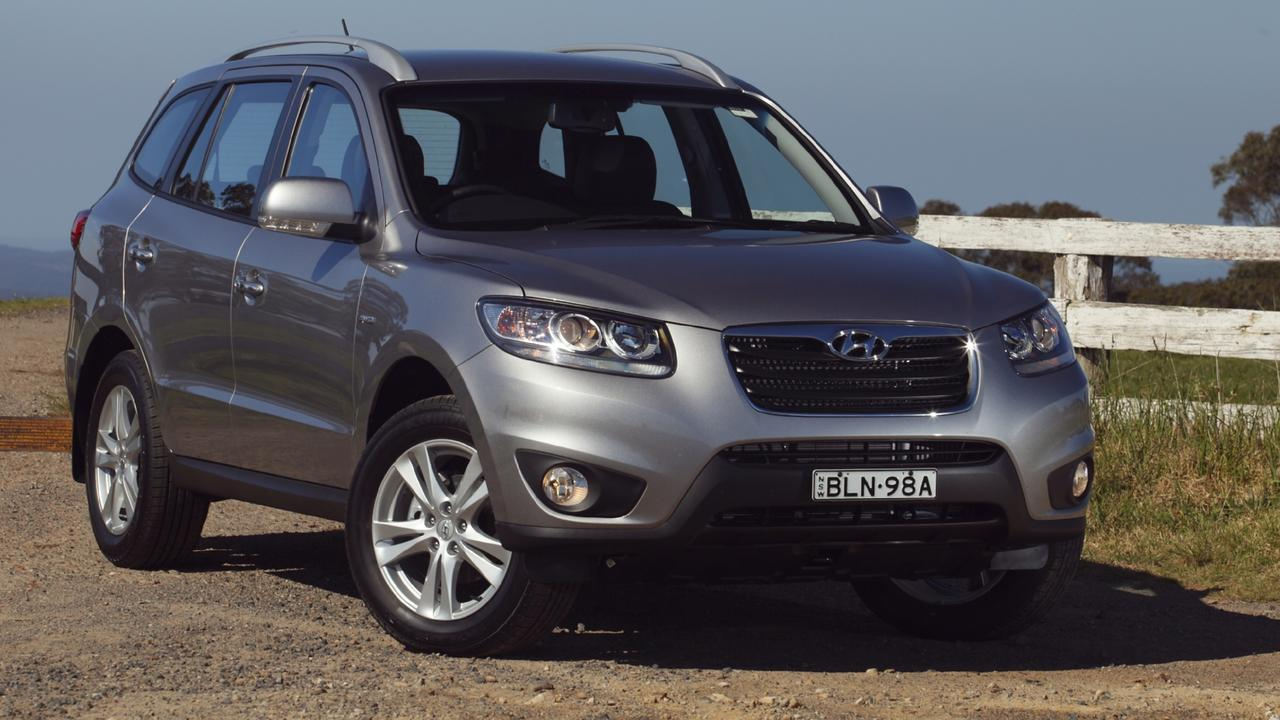 The Hyundai Santa Fe is also affected by the recall. Picture: Supplied.