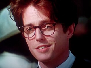 Everyone fell in love with Hugh Grant in 'Four Weddings And A Funeral'. Picture: Film4 Productions Source: Supplied