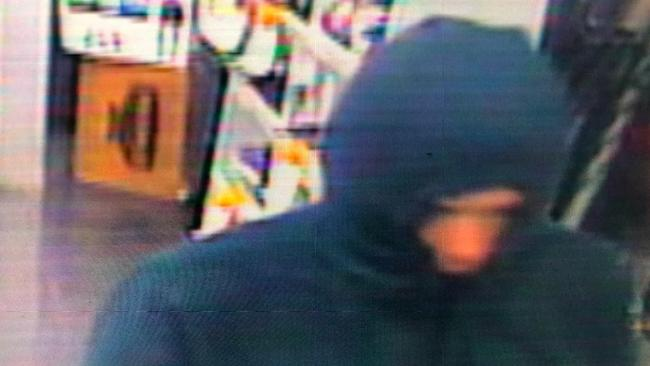 A man threatened convenience store staff with a syringe and stole cash on Waymouth St. Source: Ricky Petropoulos
