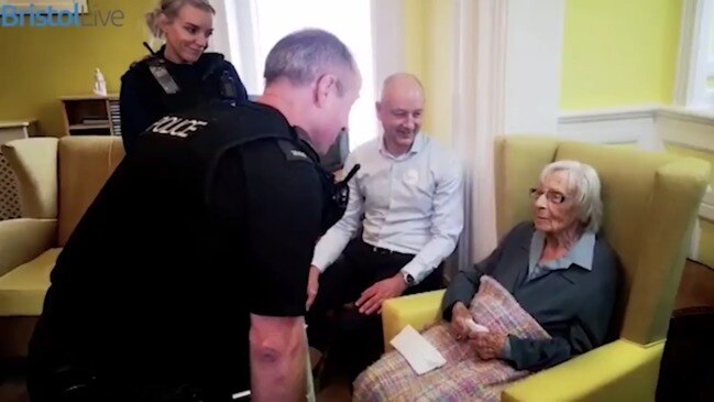 104-year-old woman requests to be arrested