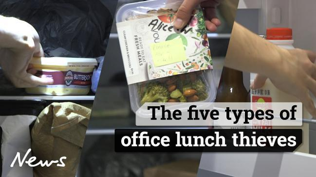 The five types of office lunch thieves