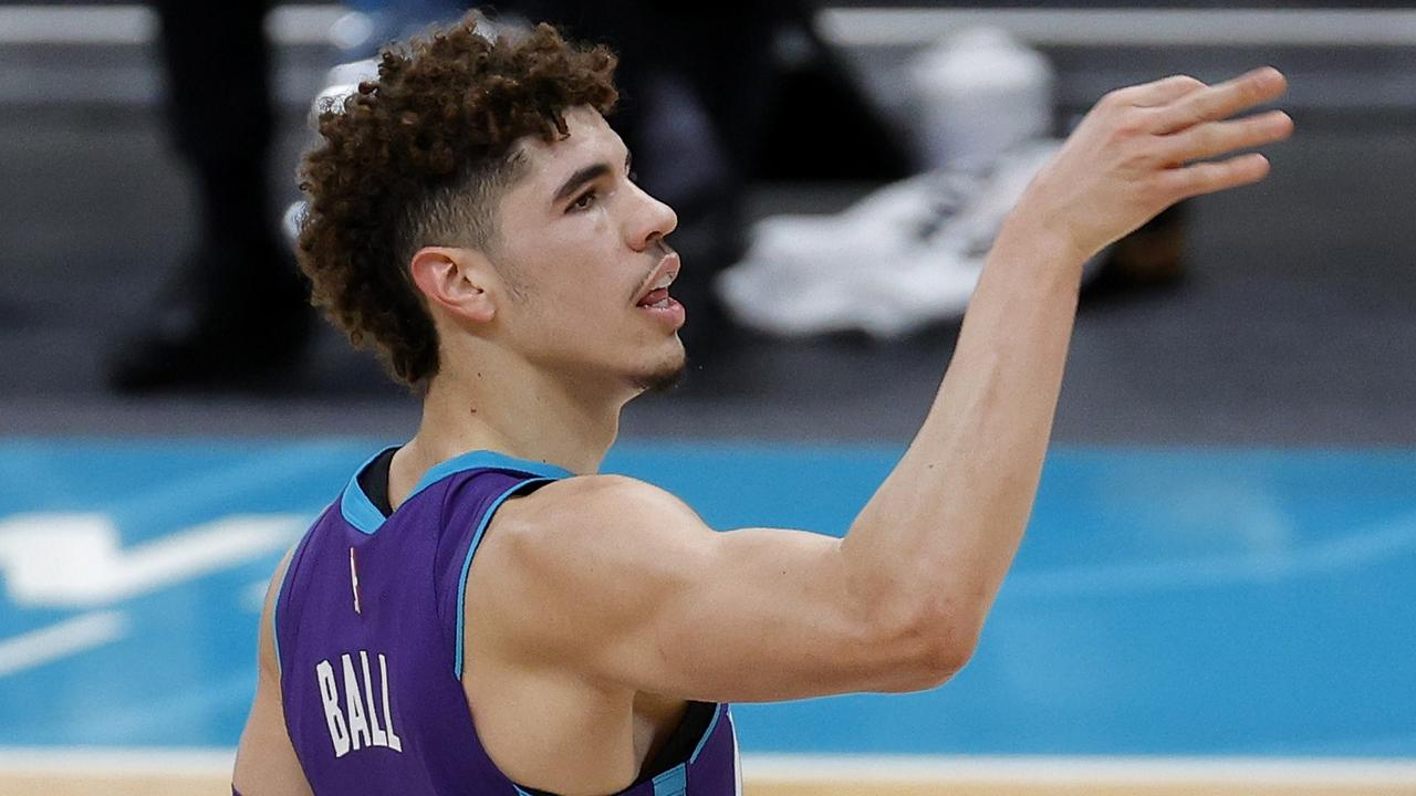 LaMelo Ball is just getting better and better. Photo: Jared C. Tilton/Getty Images/AFP