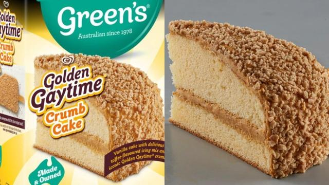 Golden Gaytime cake, brownie, brookie and mousse mixes are soon to hit shelves