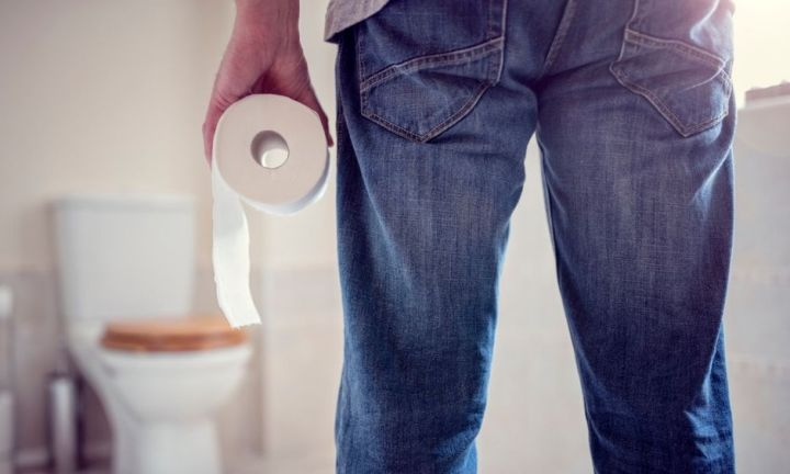 Men hide in the bathroom for 'peace and quiet'