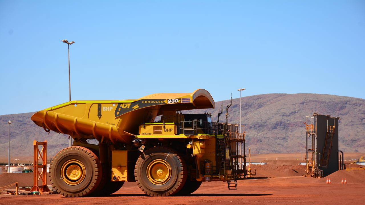 A BHP site in WA. All workers no matter which state line they reside in must get a vaccine. Picture by: Rebecca Le May
