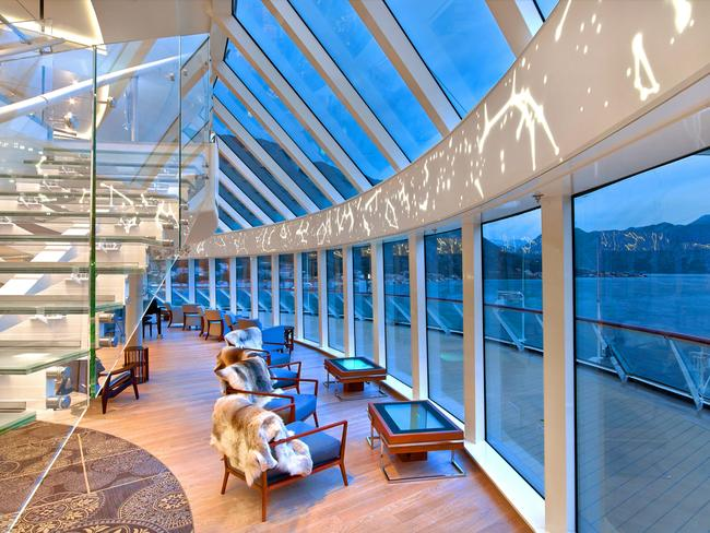 "AGENT'S PICK: VIKING ORION ""Cruising on Viking is magical — the decor is Nordic with light spaces to enjoy the ship and vistas — and I recommend Viking Orion to guests who want luxury but with a relaxed dress code and enjoy the concept of no children or casino on board.'' — Loretta Abernethy, Destination HQ"