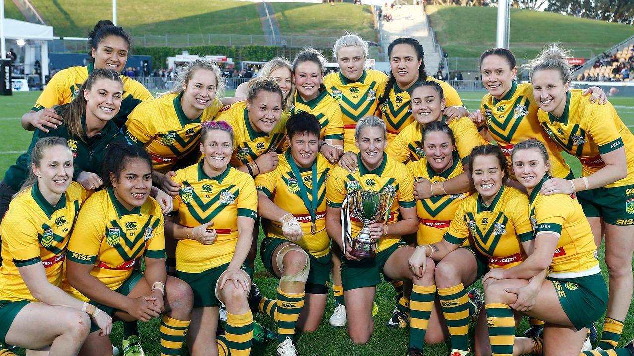 Australian Jillaroos have defeated the Kiwi Ferns.